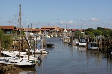 Village Ostreicol (Bassin d'Arcachon/France)