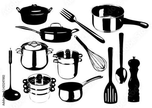 ustensile de cuisine fichier vectoriel libre de droits. Black Bedroom Furniture Sets. Home Design Ideas