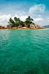 île ile seychelle paradis turquoise océan indien cocotier rêv