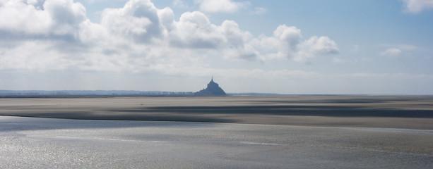 paysage et panorama de la baie du mont saint michel