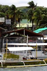 Philippines  white boat