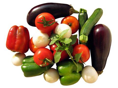 Légumes à ratatouille