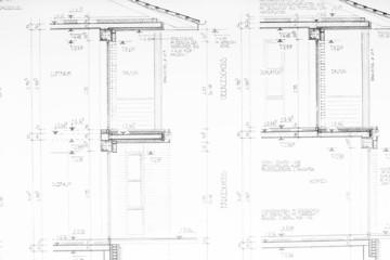 Bauplan (Erdgeschoss und Obergeschoss)