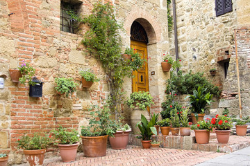 lovely tuscan street