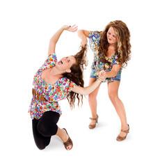 Auseinandersetzung zwischen Schwestern