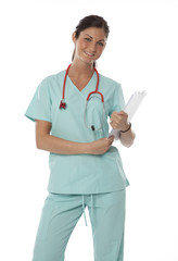 Pretty Health Care Worker