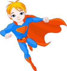 Aluminium Prints Superheroes Super Boy