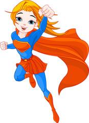 Fotobehang Superheroes Super Girl
