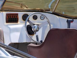 Steuerrad Motorboot