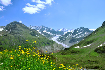 Gepatschferner - Kaunertal - Österreich