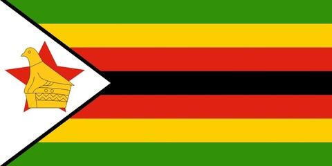 Drapeau-Zimbabwe