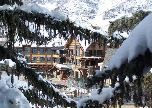 Snowmass Village in Winter
