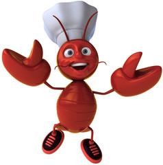 Homard chef