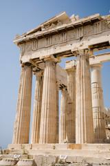 Parthenon on the Acropolis in Athens,Greece