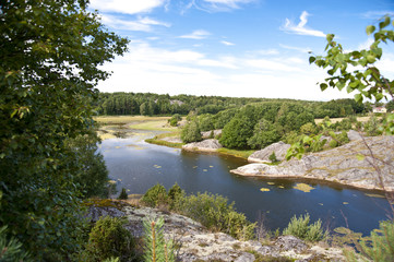 In den Schären von Flatön, Schweden