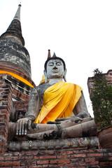 Acient buddha ,Thailand