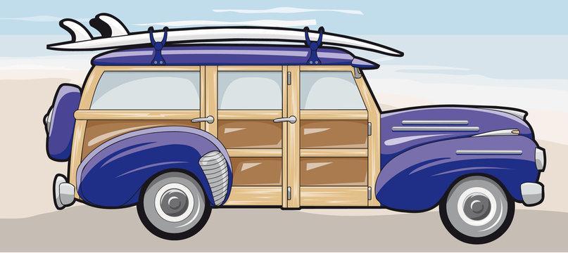Surfer station wagon