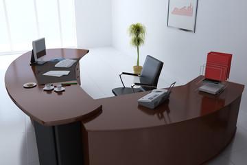 3d render manager office