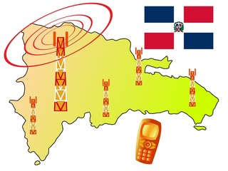 mobile connection of Dominican Republic