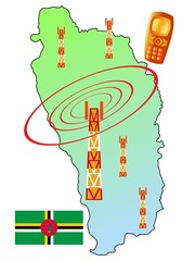 mobile connection of Dominica