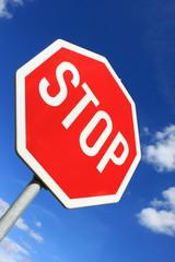 Stopschild in Deutschland