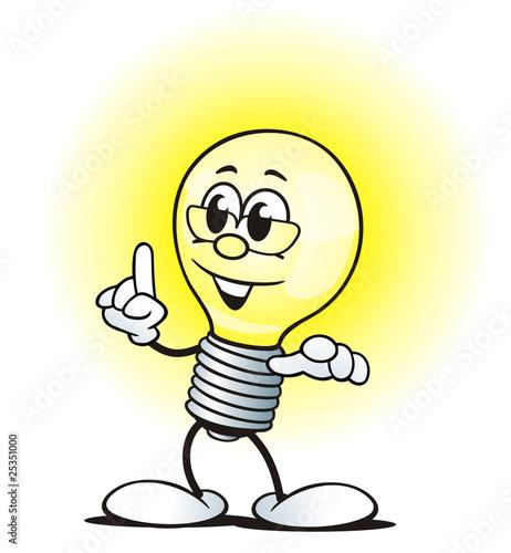 """""""Electric Bulb with Know how"""" Stockfotos und lizenzfreie"""