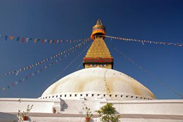 Stupa of Boudhanath, Kathmandu Nepal