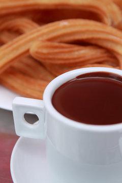 churros con chocolate 2