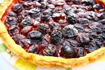 tarte aux prunes quetsches