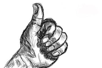 sketch hand