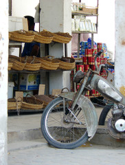 Medenine, Tunisia - Bazaar with spice