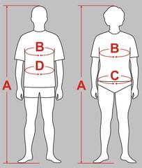 The scheme of measurements