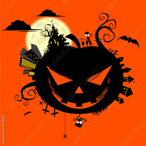 halloween k rbis motiv vorlage cartoon stockfotos und lizenzfreie vektoren auf. Black Bedroom Furniture Sets. Home Design Ideas