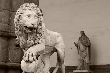 lion de florence