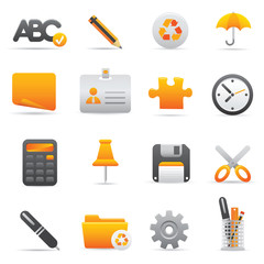 Office Icons | Yellow 09