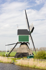 windmill near Groot-Ammers, Netherlands
