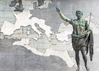 Fototapeta Augusto e il suo impero (14 d.C), Roma obraz