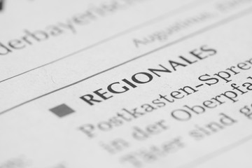 Regionalzeitung