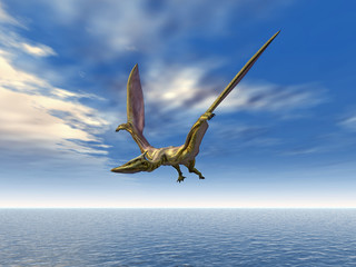 Flying Dinosaur Quetzlcoatlus