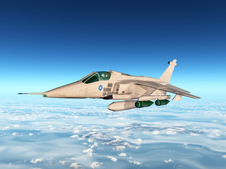 Jaguar Fighter Jet