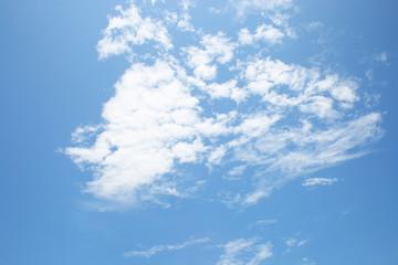 Perfect blue sky.