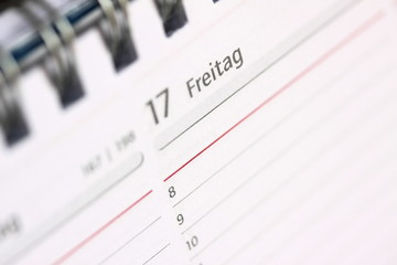 calendar (close up)
