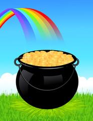 Money cauldron