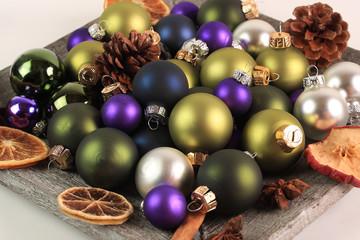 Weihnachten weihnachtlich dekoriert