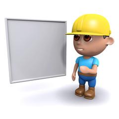 3d Surveyor at the whiteboard