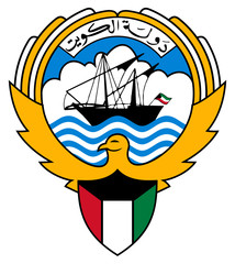 Wall Mural - Kuwait Coat of Arms