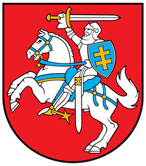 Wall Mural - Lithuania Coat of Arms