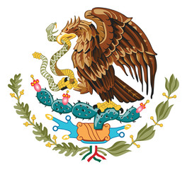 Wall Mural - Mexico Coat of Arms