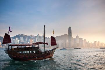 Traditonal Chinese Boat.