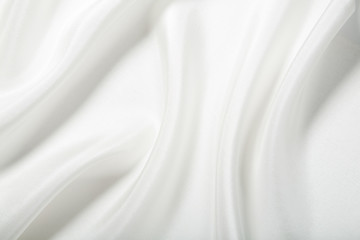 abstract white silk background